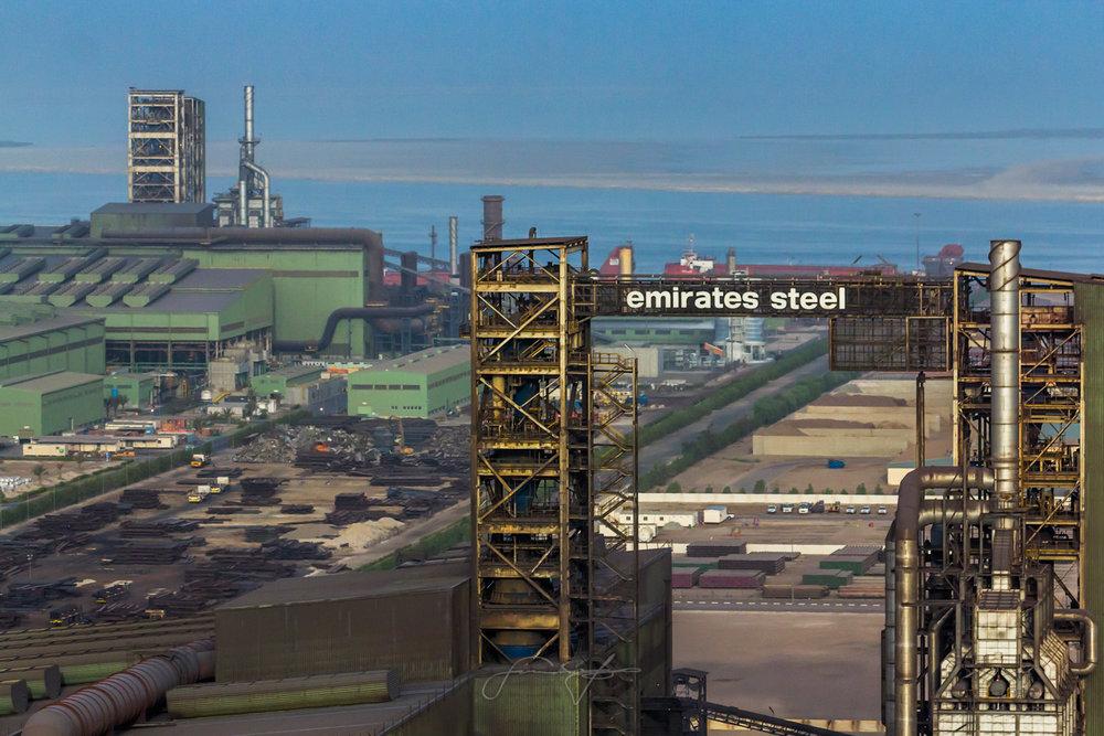 Emirates Steel aerial