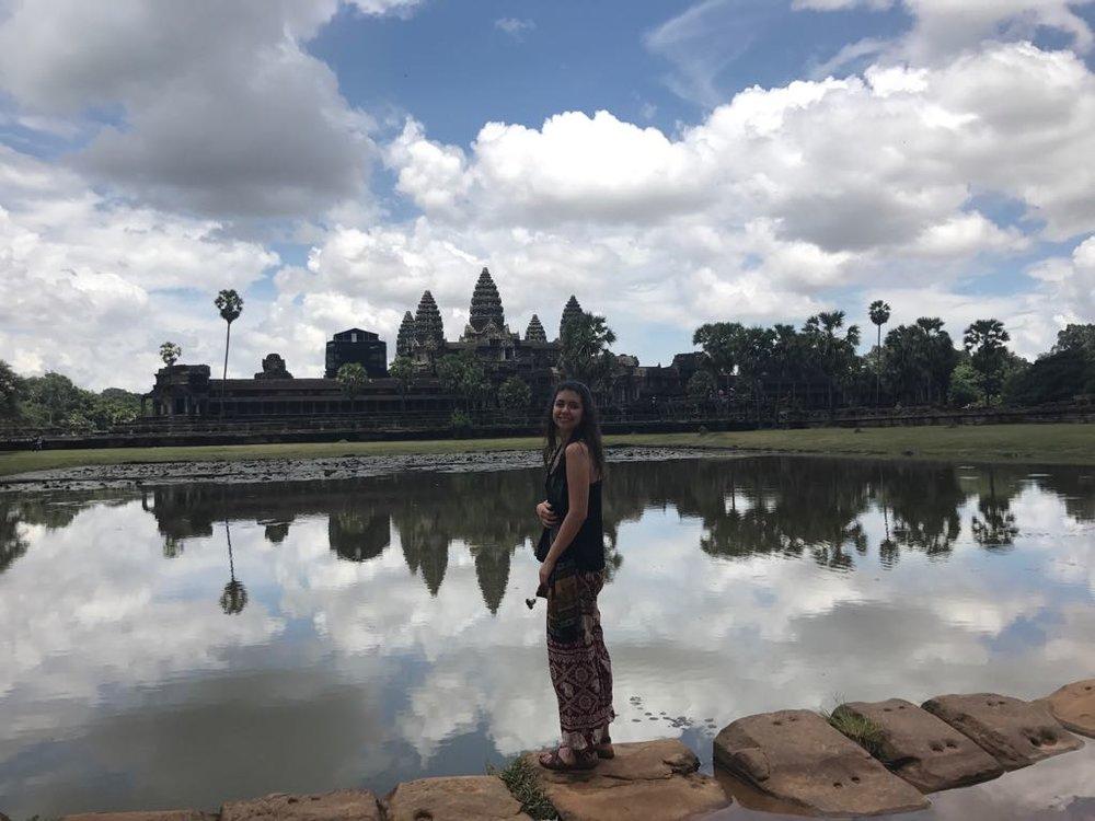 Siem Reap - Los templos de Angkor Wat son una cosa impresionante, no te explicas tanto templo en medio de la naturaleza y la inmensidad del lugar.