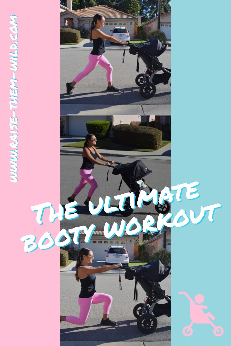 The ultimate booty workout with your stroller!