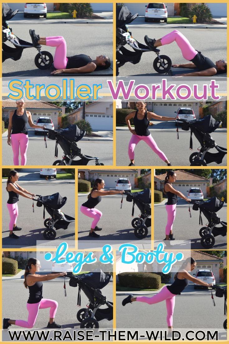 Leg & Booty stroller workout