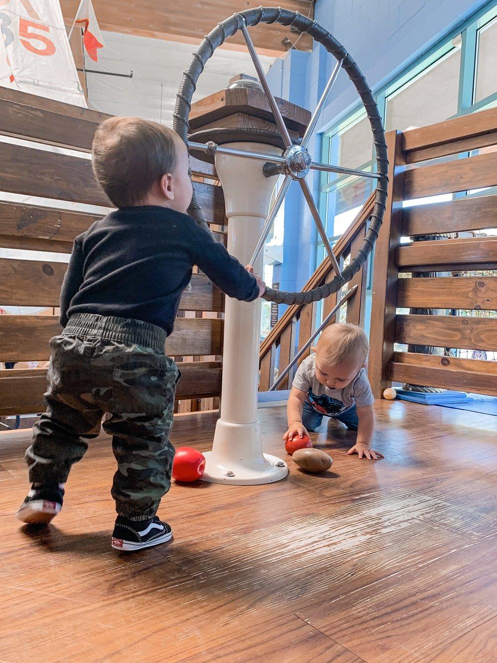 San Diego Children's Discovery Museum- a recap