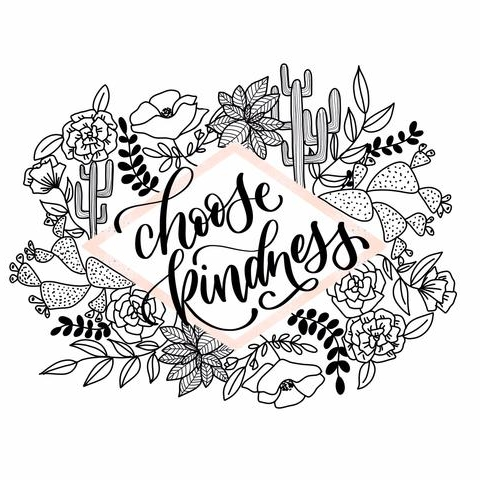 """Choose Kindness"" Print - $12.58"