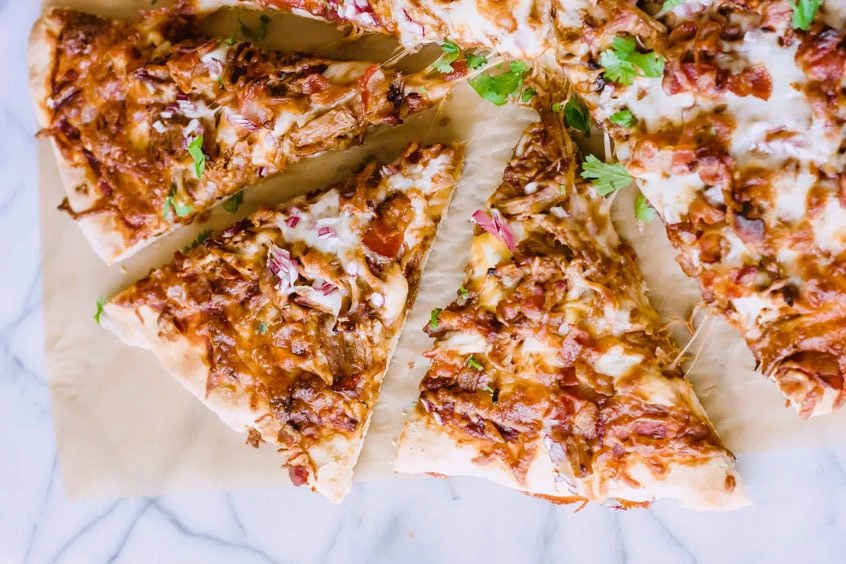 Cock & Bull Floribbean Flare BBQ Sauced Pulled Pork Pizza -