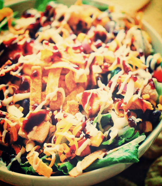 Cock & Bull Floribbean Flare BBQ Chicken Salad -