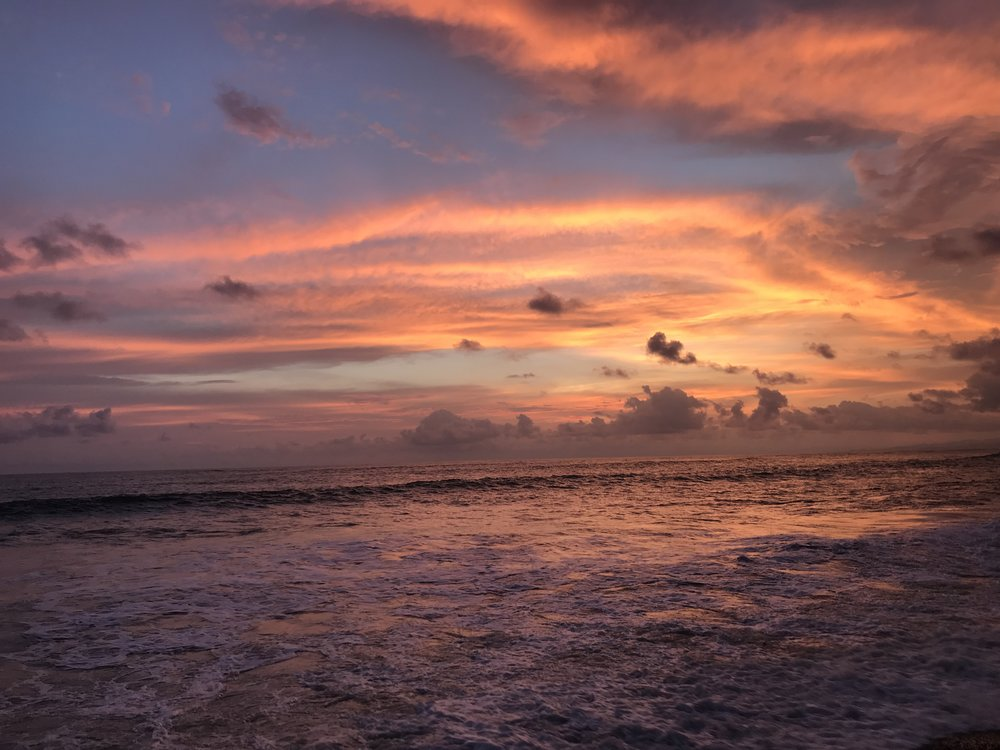 Sunset in Costa Rica this past May…one of my favorite Central American countries.