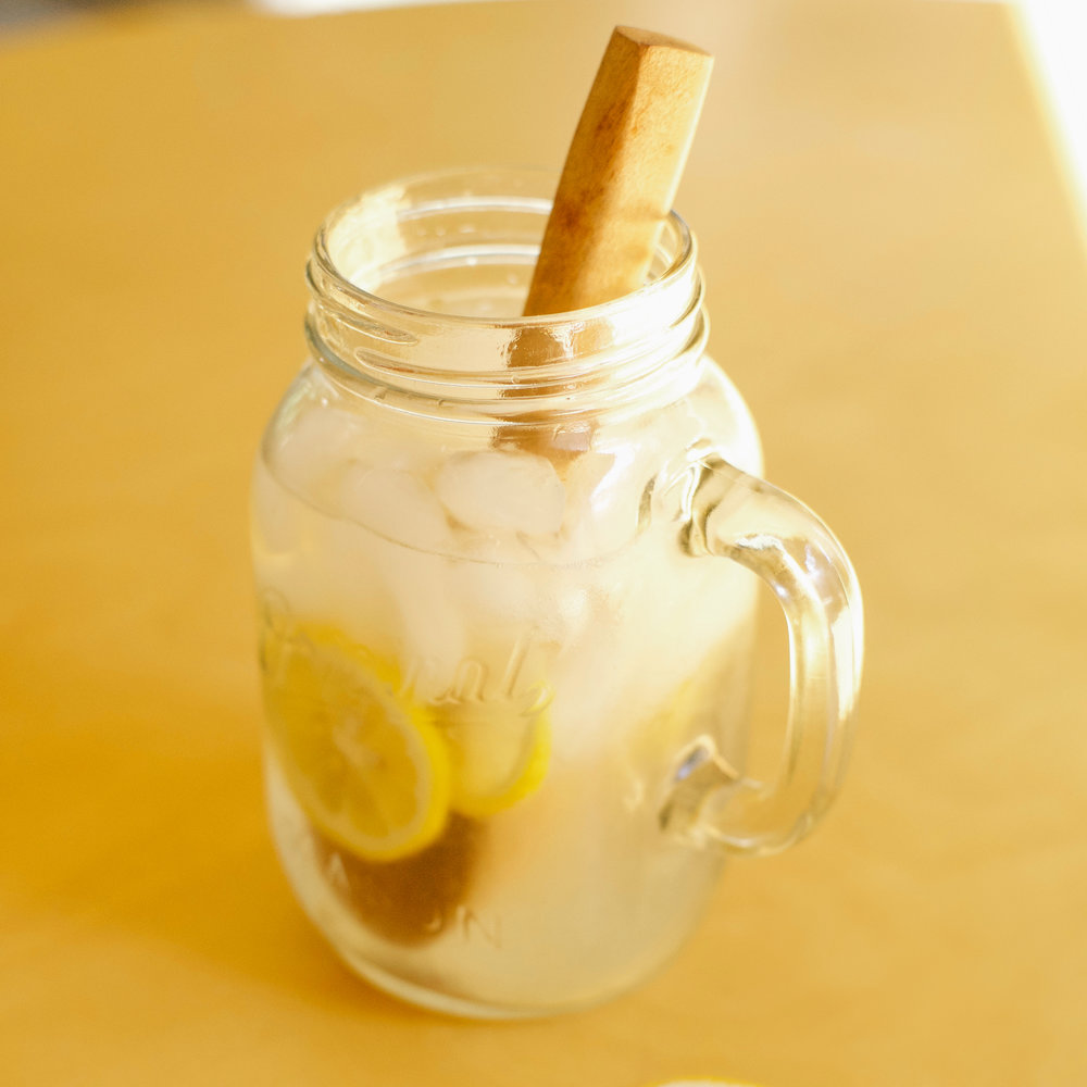 LEMONADE - In a jar add the juice of 4-5 lemons, 1 tsp. Celtic salt, sweetener of choice. Stir. Add water or sparkling water.Alternate: Add lemon peel and grind/mix all ingredients. Strain. Add sparkling water and enjoy!
