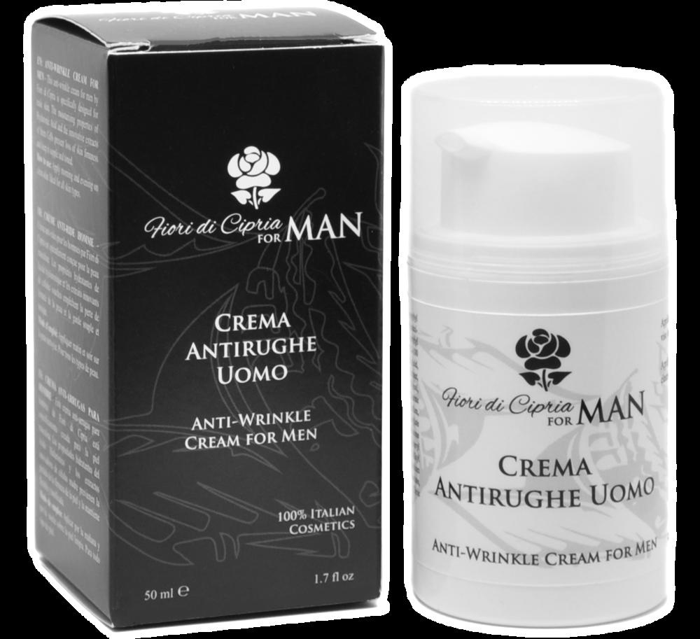 Crema Anti-Arrugas Para Hombre