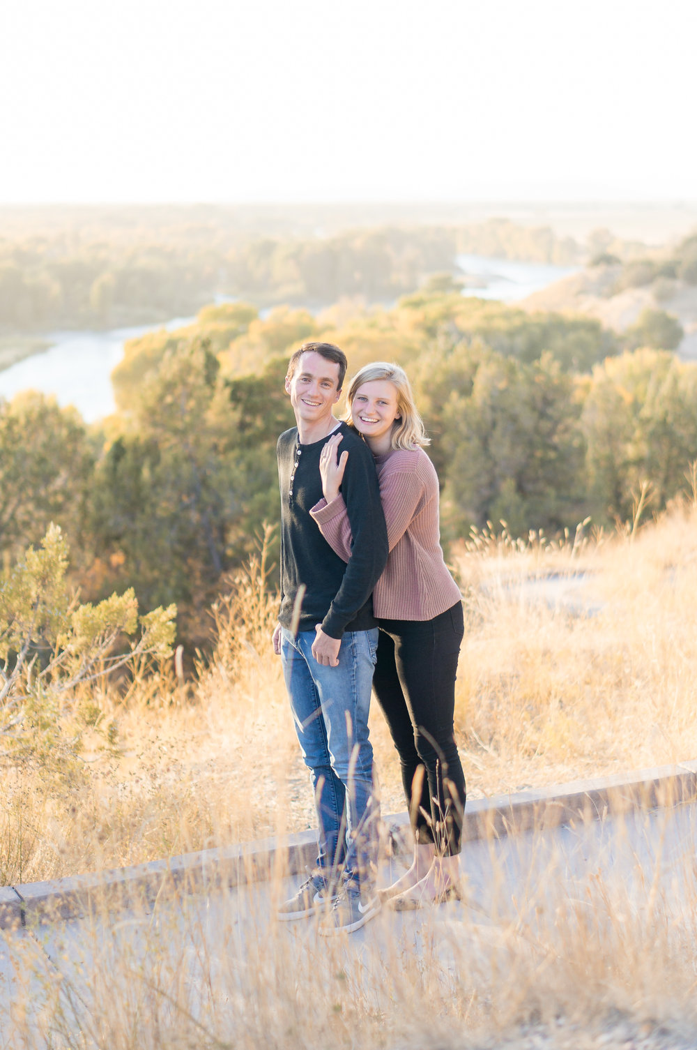 Emmelie and Lowell Idaho Engagement