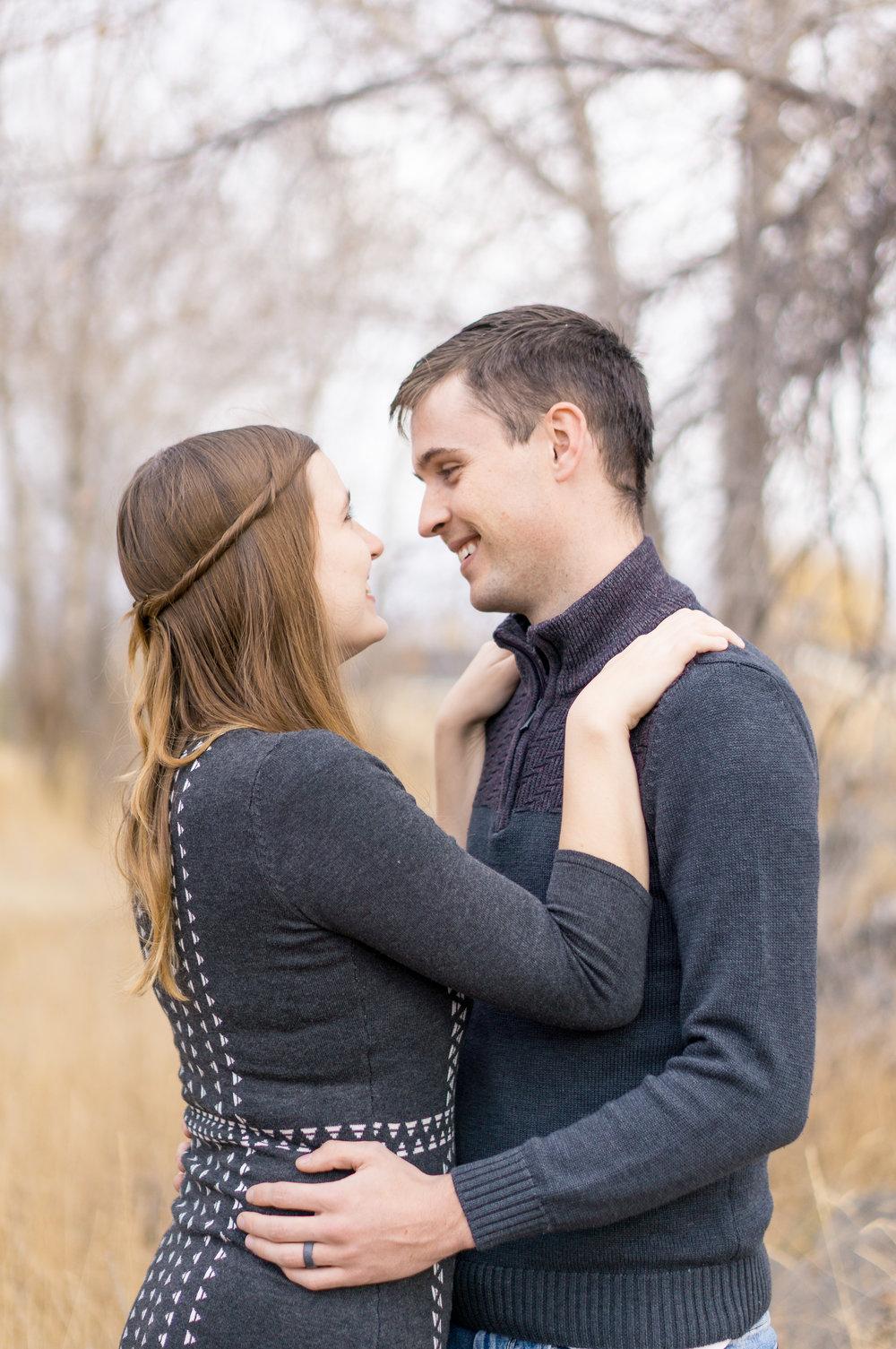 Haley and Camden Rexburg, Idaho Portrait