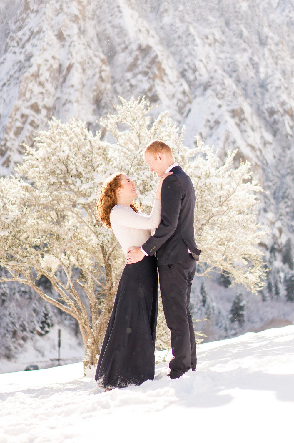 Eleanor and Zach Christine Madeux Photography Idaho Utah Engagement Photos