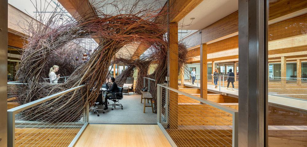 Offices of Weiden + Kennedy / Adweek