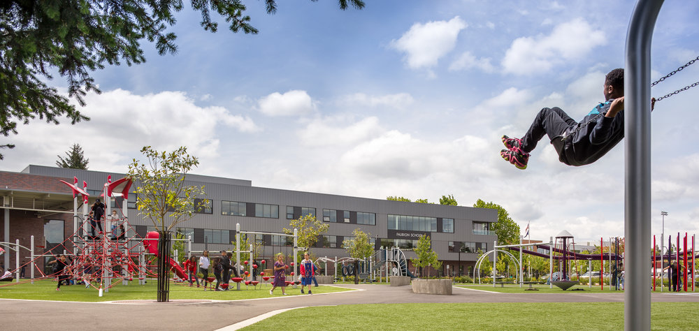 Faubion School / Bora Architects