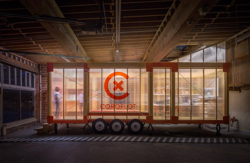 Coroflot Mobile Work Unit / Los Osos