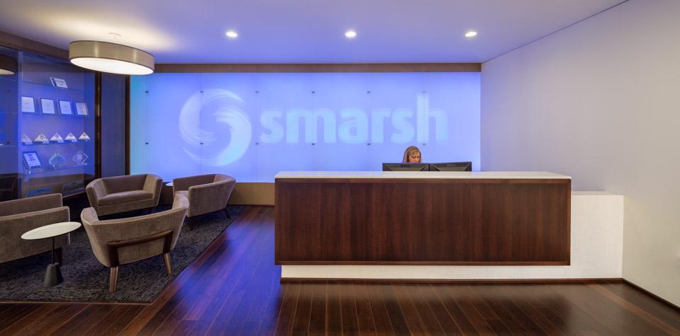 Smarsh Lobby / Hennebery Eddy Architects