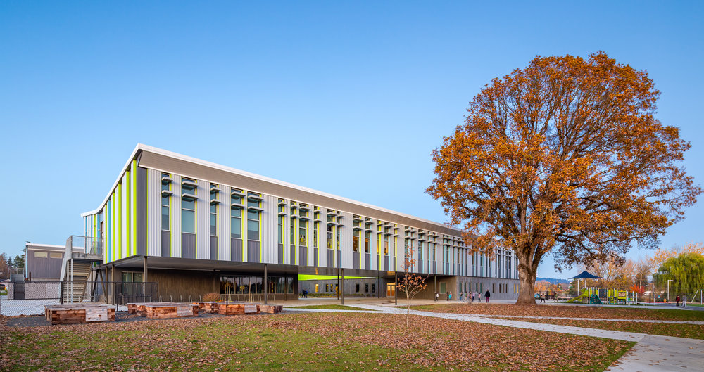 Vose + Sato Elementary Schools / DLR Group