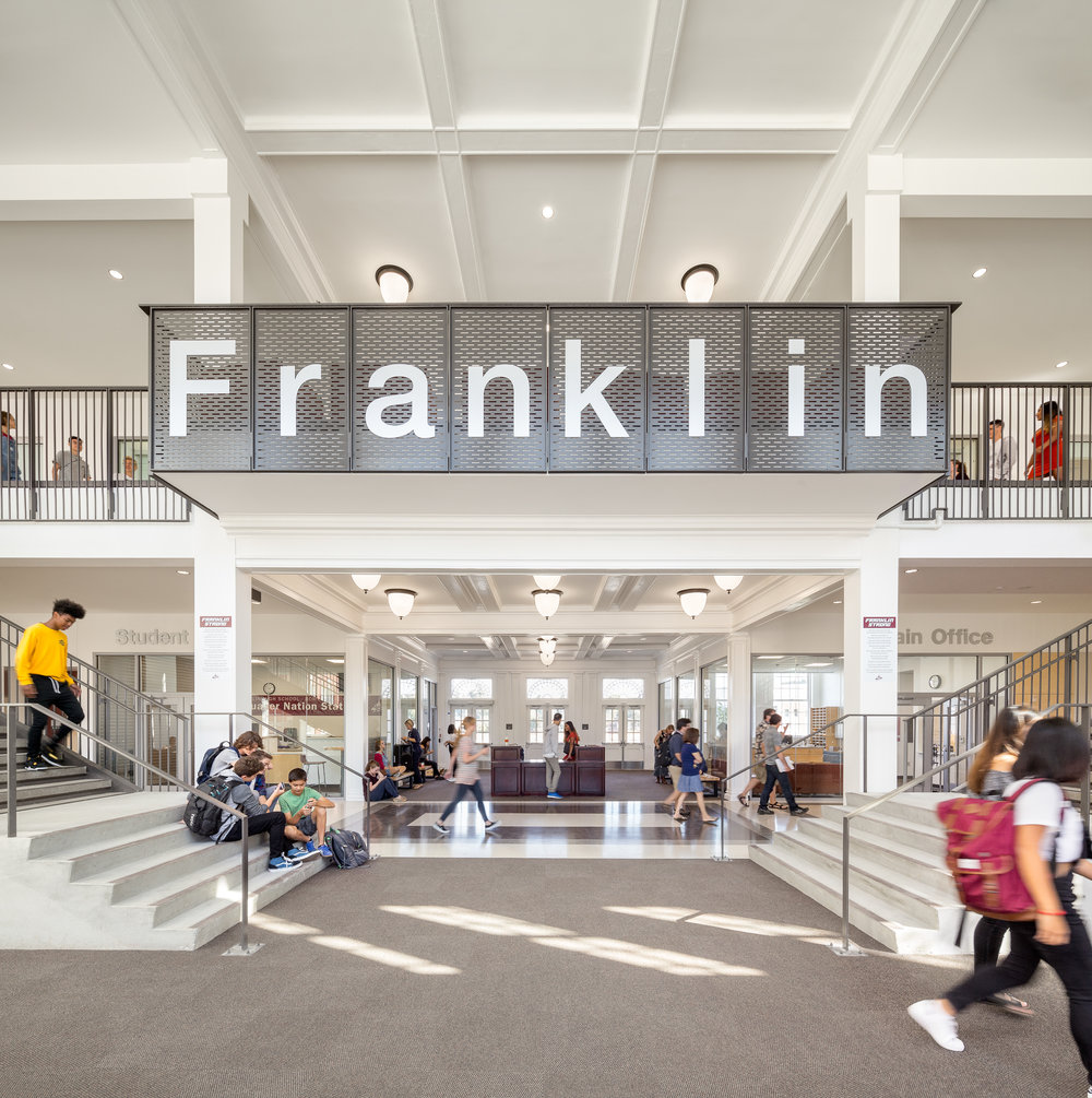 Franklin High School / DOWA-IBI Group + SERA Architects