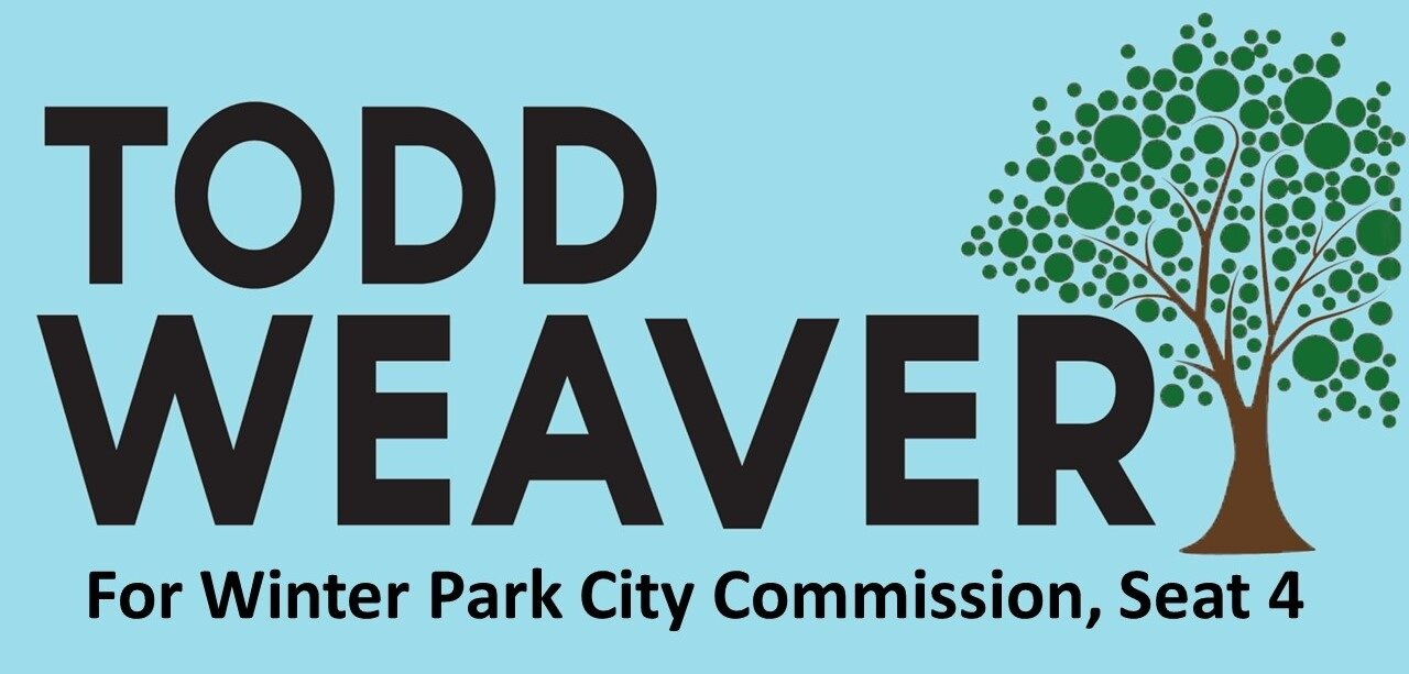 Todd Weaver for Winter Park City Commission Seat 4