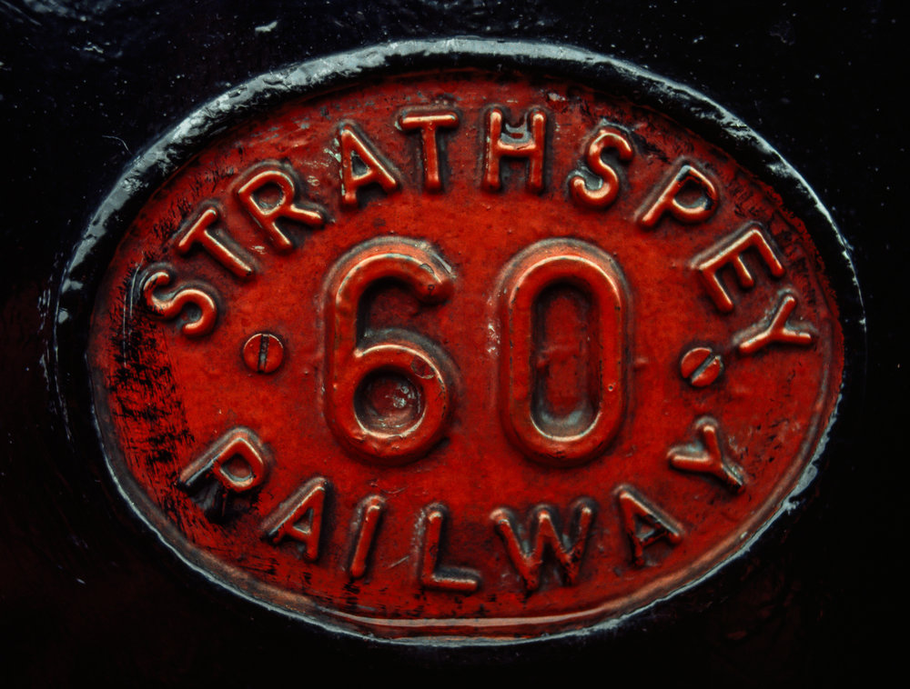The historic Strathspey Railway runs from Aviemore to Boat of Garten in the Highlands of Scotland
