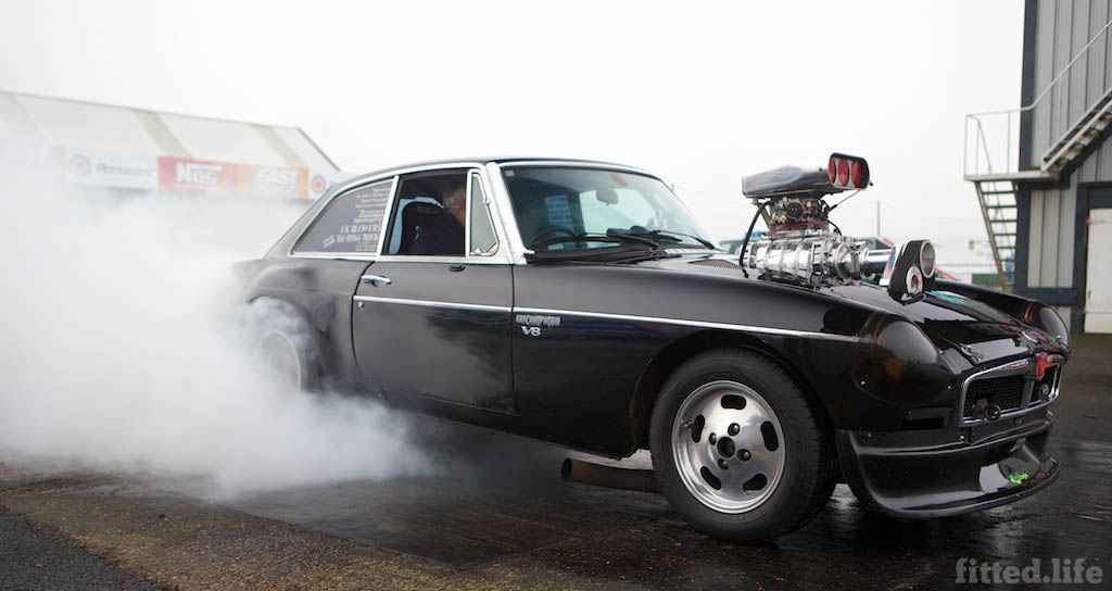 MGB Dragster Living Life One Quarter Mile At A Time (0)