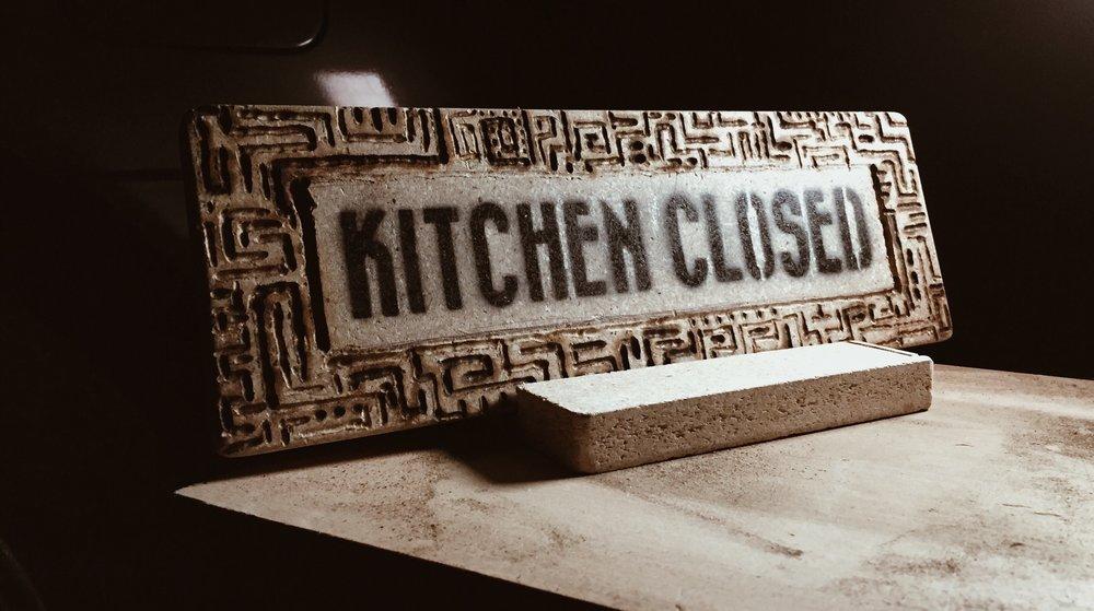 ALBOE x Kitcxhen Signage