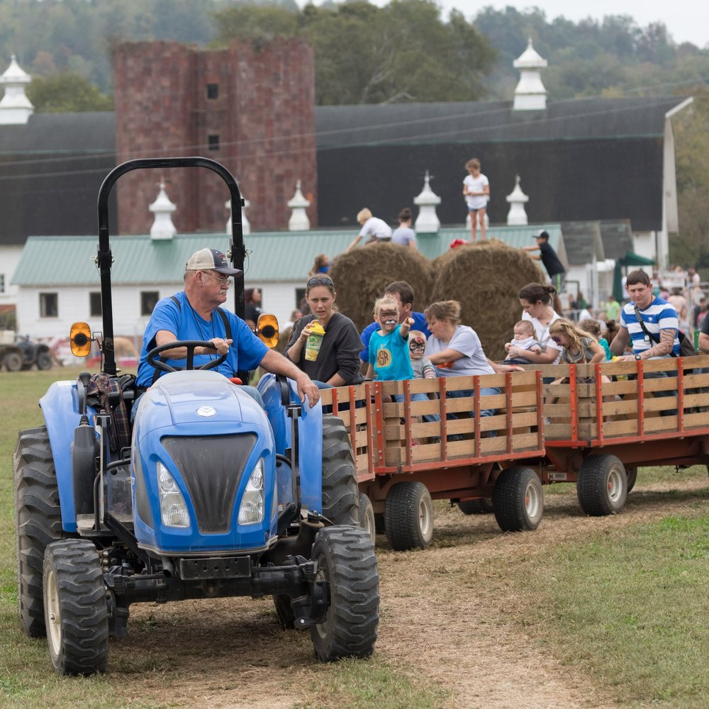 Uncle Bens Wagon Ride McDonald Farm Tennessee