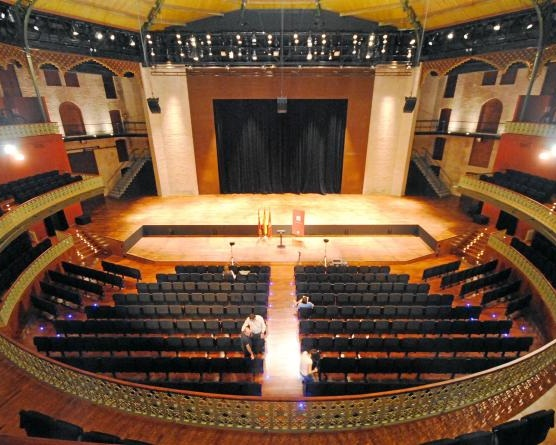 10). Teatro Circo Murcia - Constructed in 1889 & served as a theater, cinema, circus and entertainment venue, the restored Teatro Circo reopened in 2011 as a theatrical and concert hall.Location - Murcia city centre.
