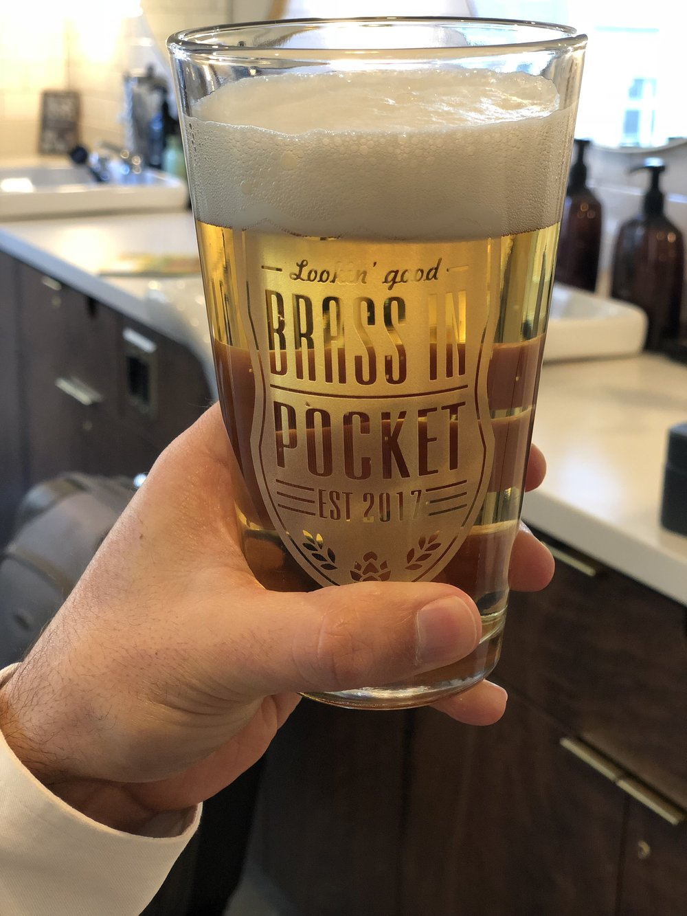 Don't forget to pour yourself a beer!