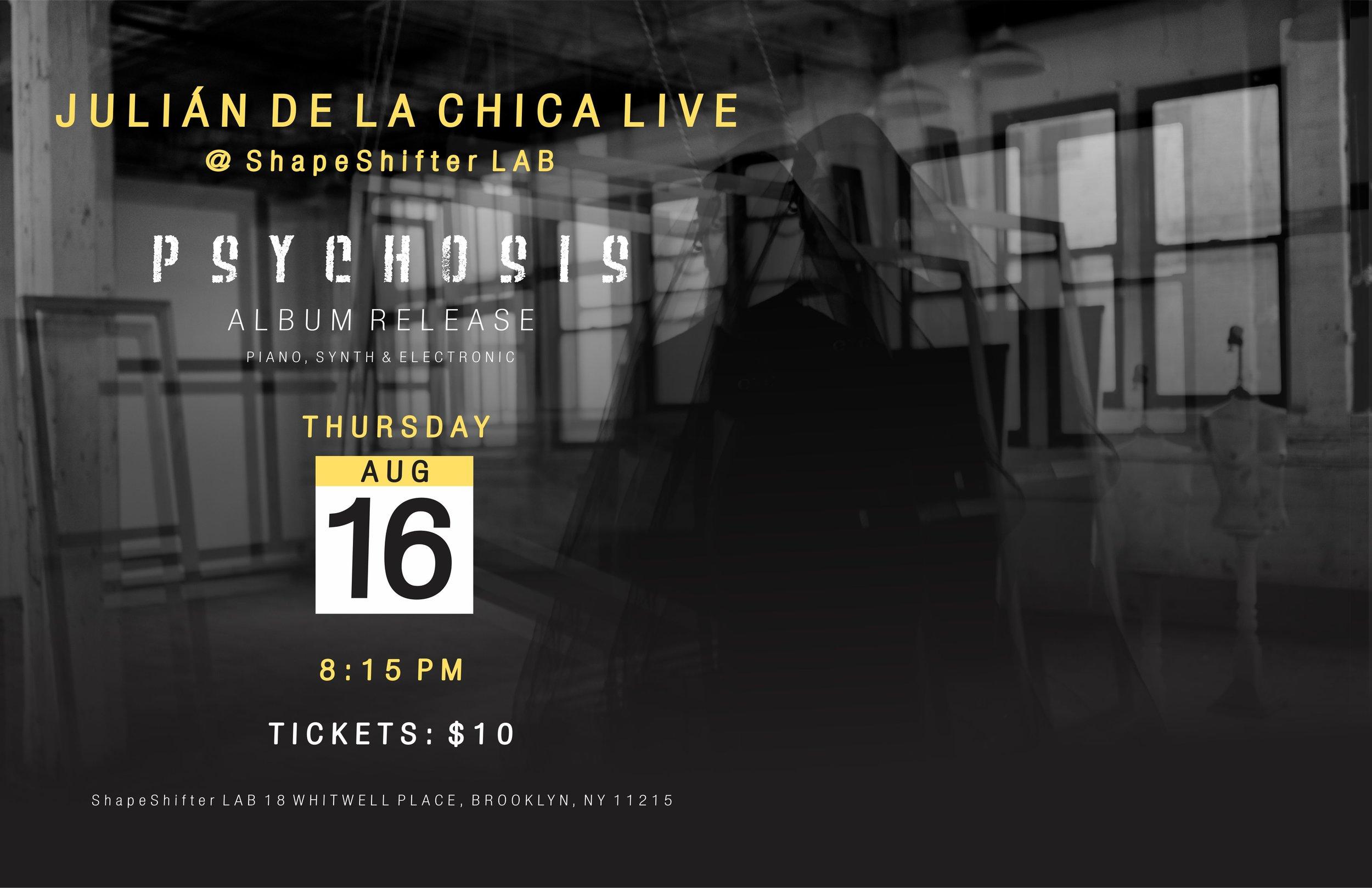 Julián De La Chica Live at ShapeShifter Lab   Julian De La Chica