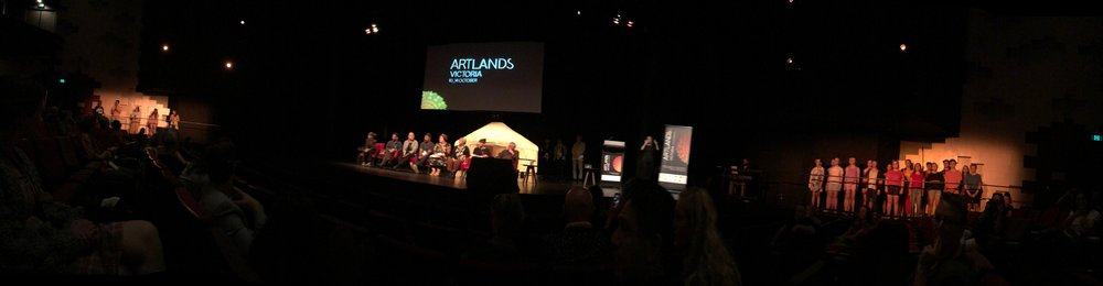 a regional art reflection - #ArtlandsVictoria