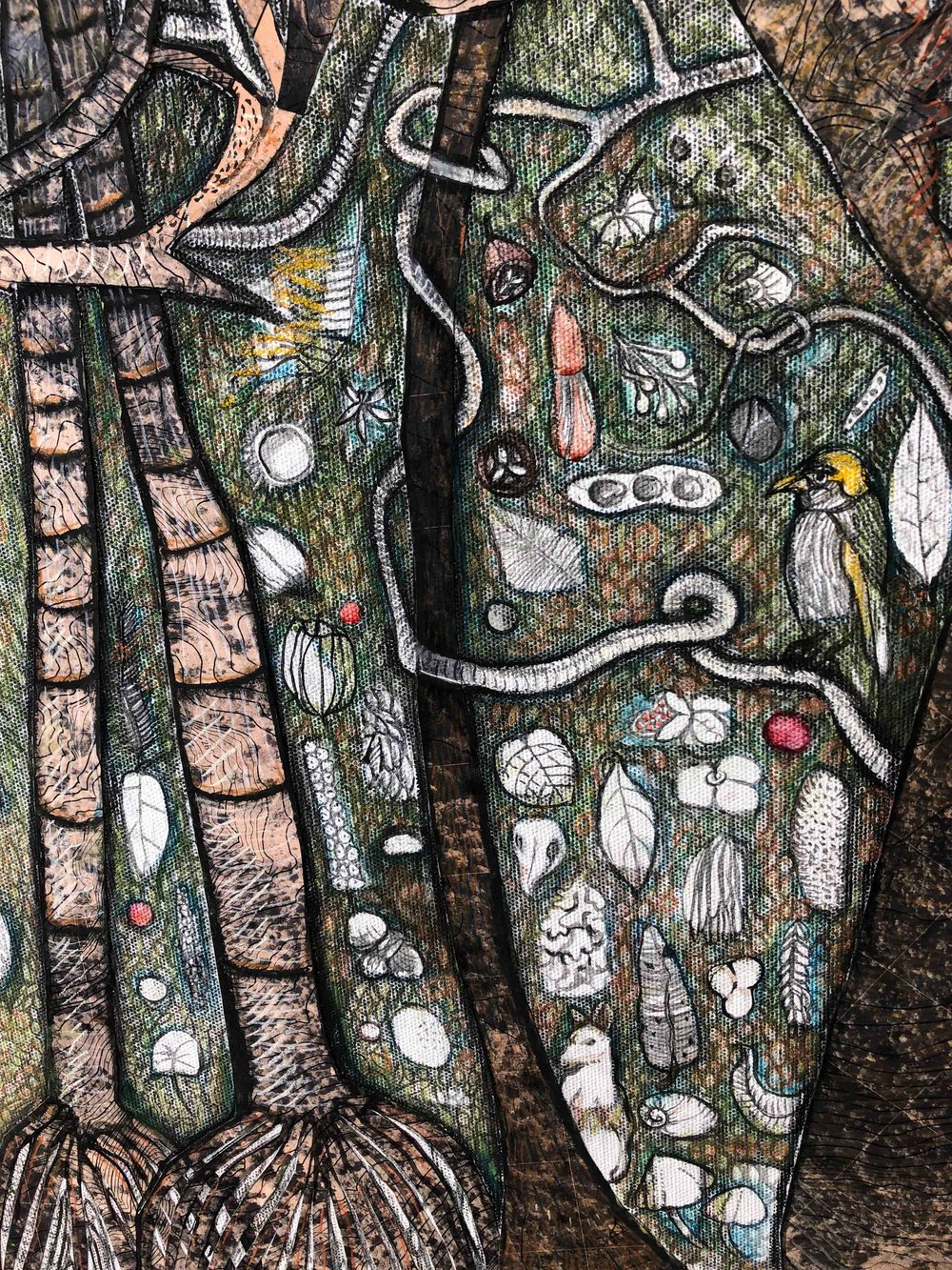 detail from 'seeing the forest for the trees'