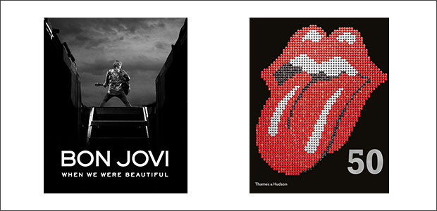 CLICK TO BUY:   Bon Jovi: When We Were Beautiful by Bon Jovi ;  The Rolling Stones 50 by The Rolling Stones .