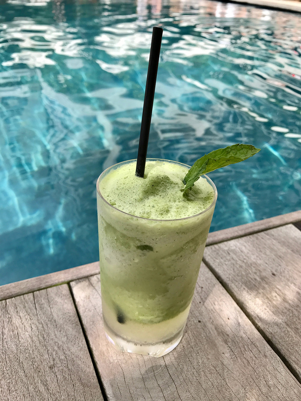 Have a  Coconut Mojito  by the pool. Not enough adjectives for how good it is. Just trust me and go there.