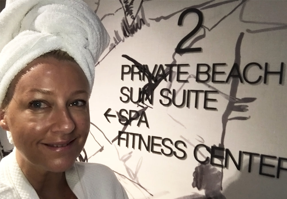 Visit the  Lather Spa .  I had a beautiful  Hawaiin Lomi  massage which is all hot stones and scented oils. You can drift down in your hotel robe and then drift right back.