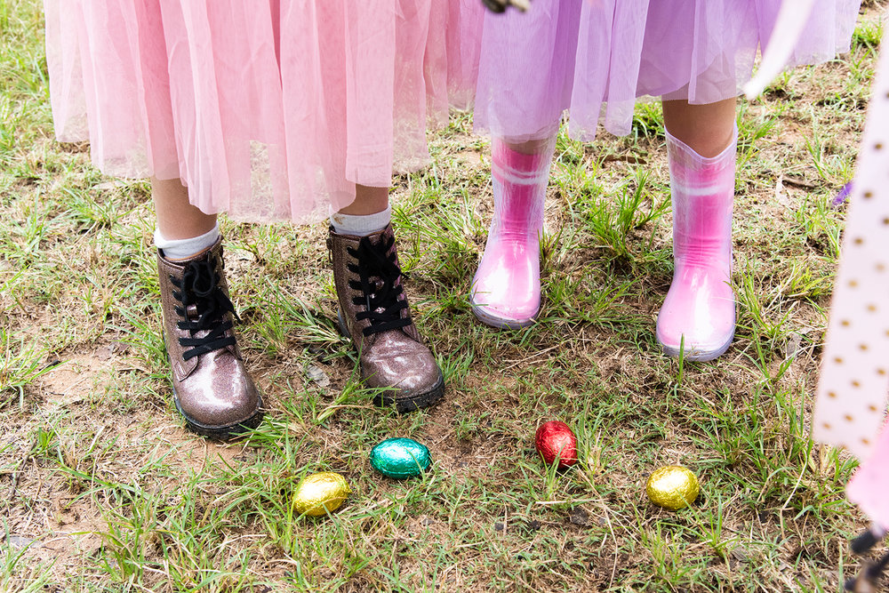 CLICK TO BUY:  Roxie Combat Boots, $49.99 from Cotton On Kids ;  Retro Rib Crew Sock, $3.99 from Cotton On Kids ;  Fashion Jolly Gumboot in Pink Transparent Stripe, $24.99 from Cotton On Kids