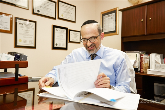 Dr. Weissman at his office