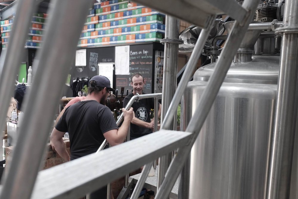Brew Day at Watts River Brewing