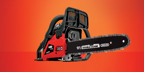 Cut through thick and thin - From compact saws for household use to high-performance saws for the serious user – the chain saw range from solo by AL-KO has it all