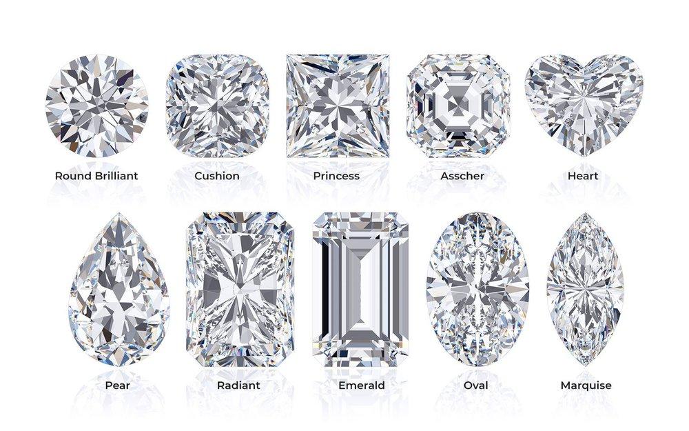 TJH Diamond Shapes