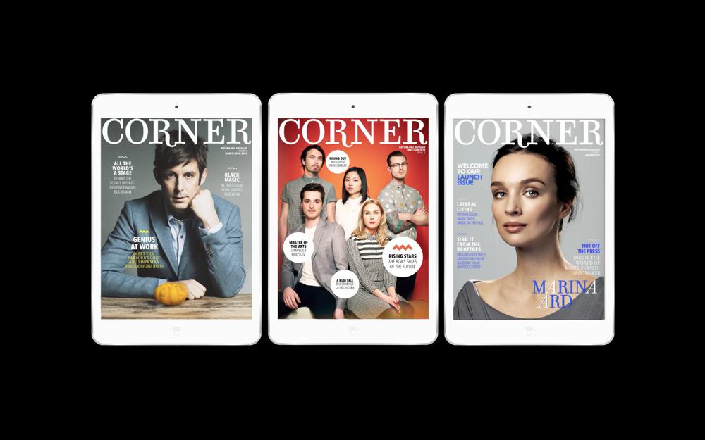 Corner magazine