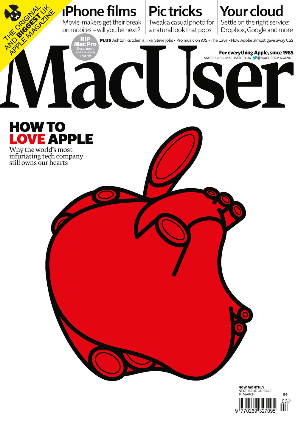 'Heart,' illustration for MacUser cover