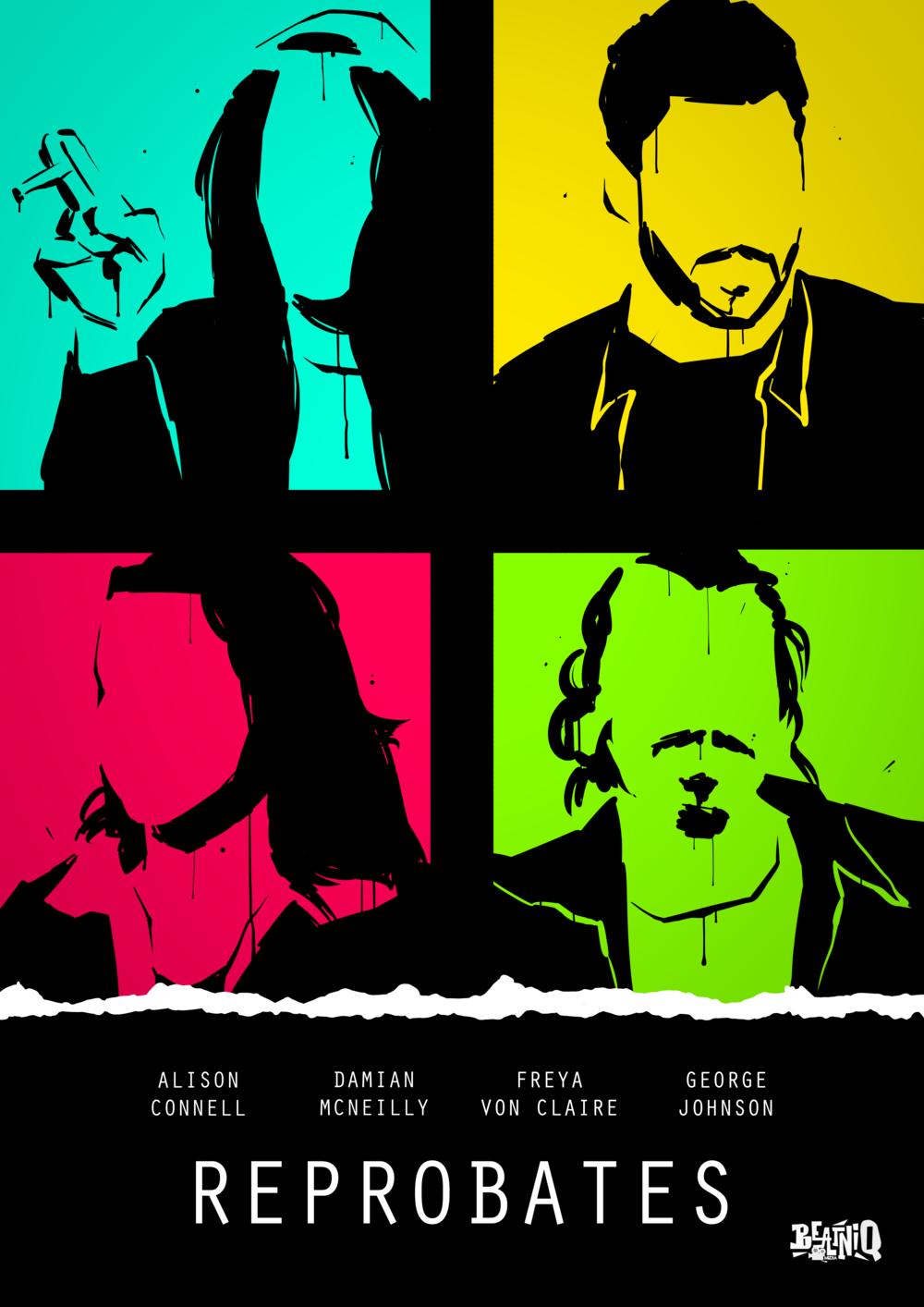 Reprobates A3 poster