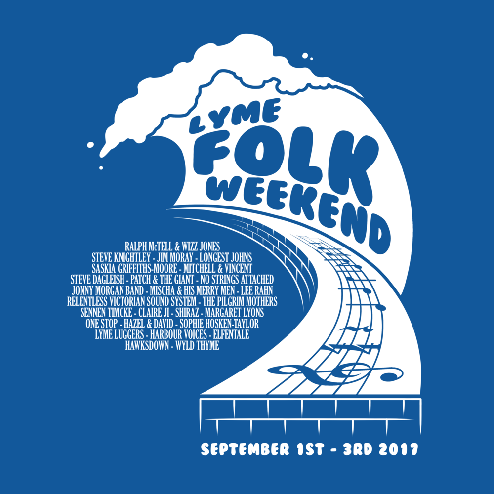 Lyme Folk t-shirt