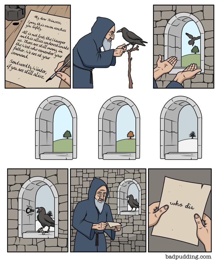 Bad Pudding: Raven