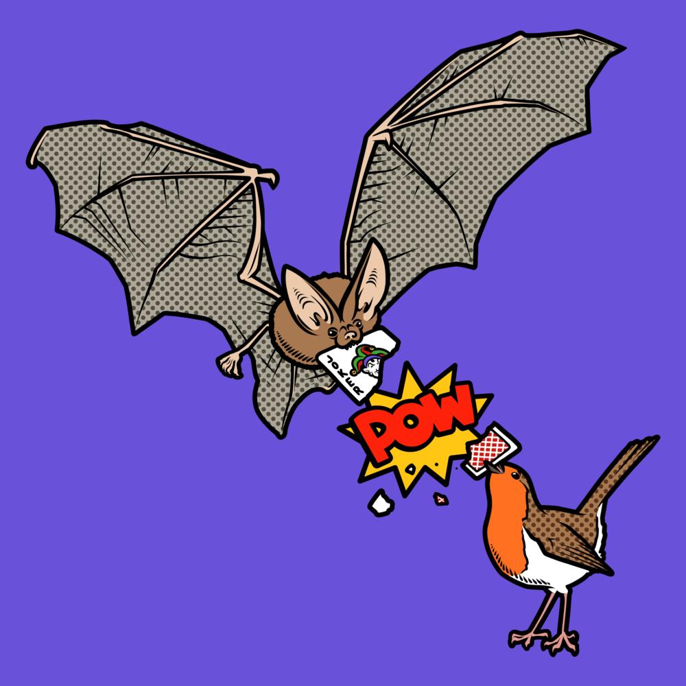 Bat, Robin & Joker t-shirt
