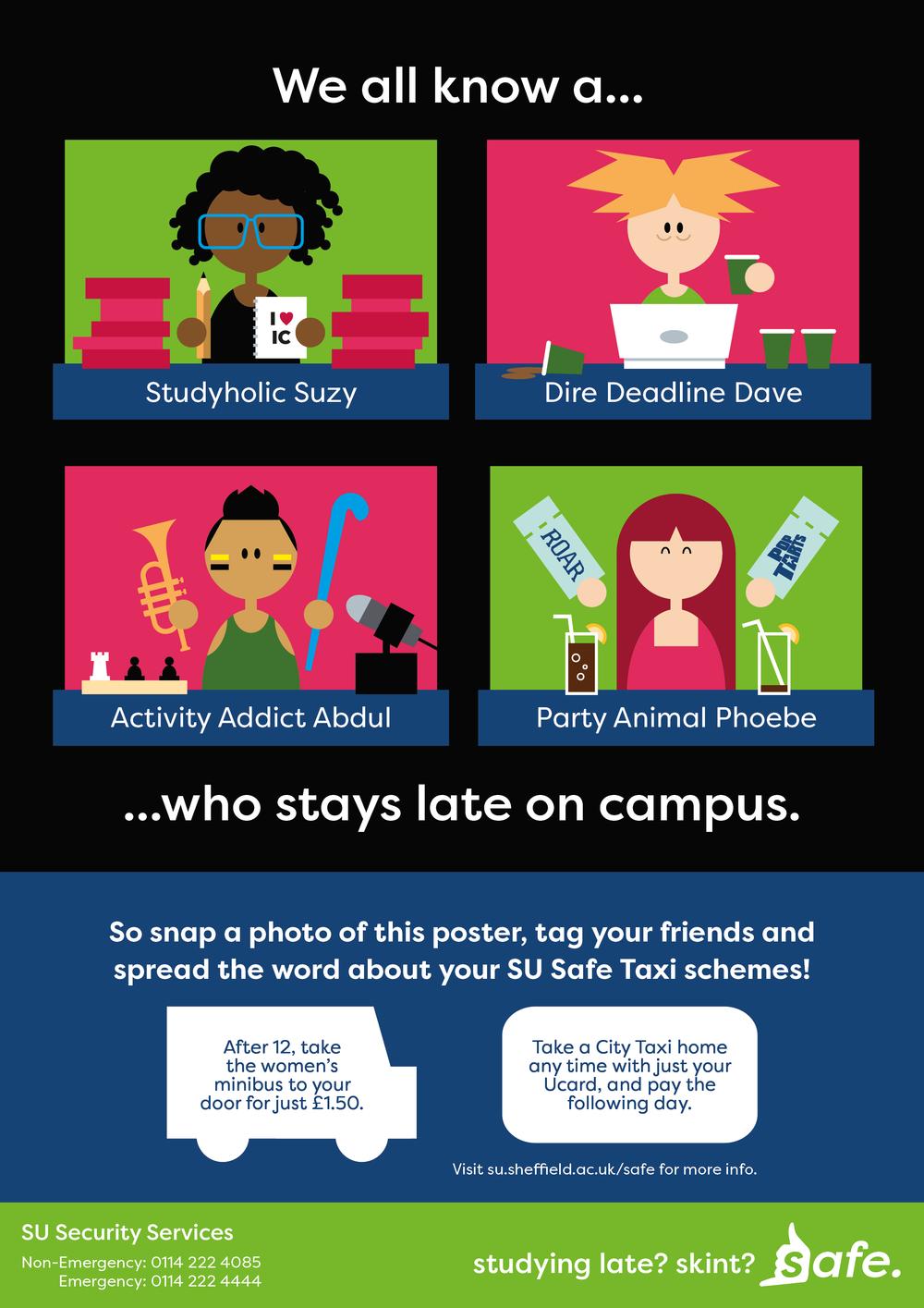 """Safe"" Campaign Poster Concept"