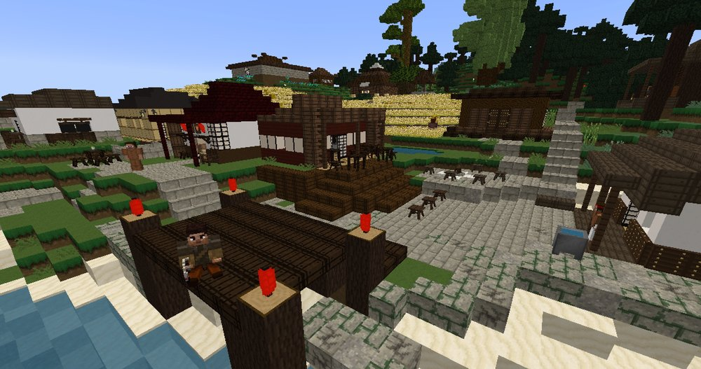 Tomodachi is home to many merchants and craftsmen.