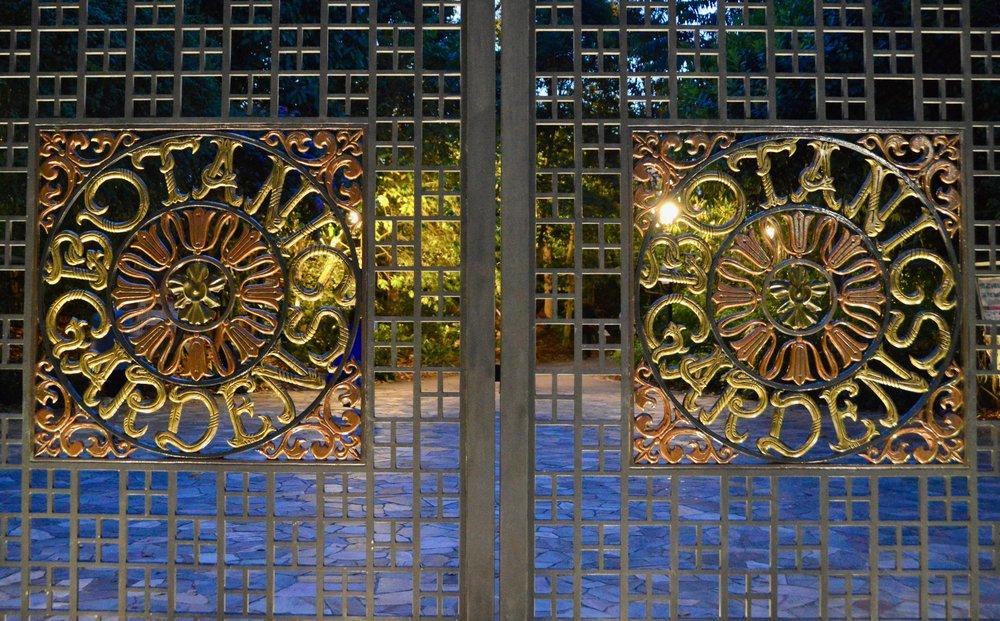Gates at Sunrise