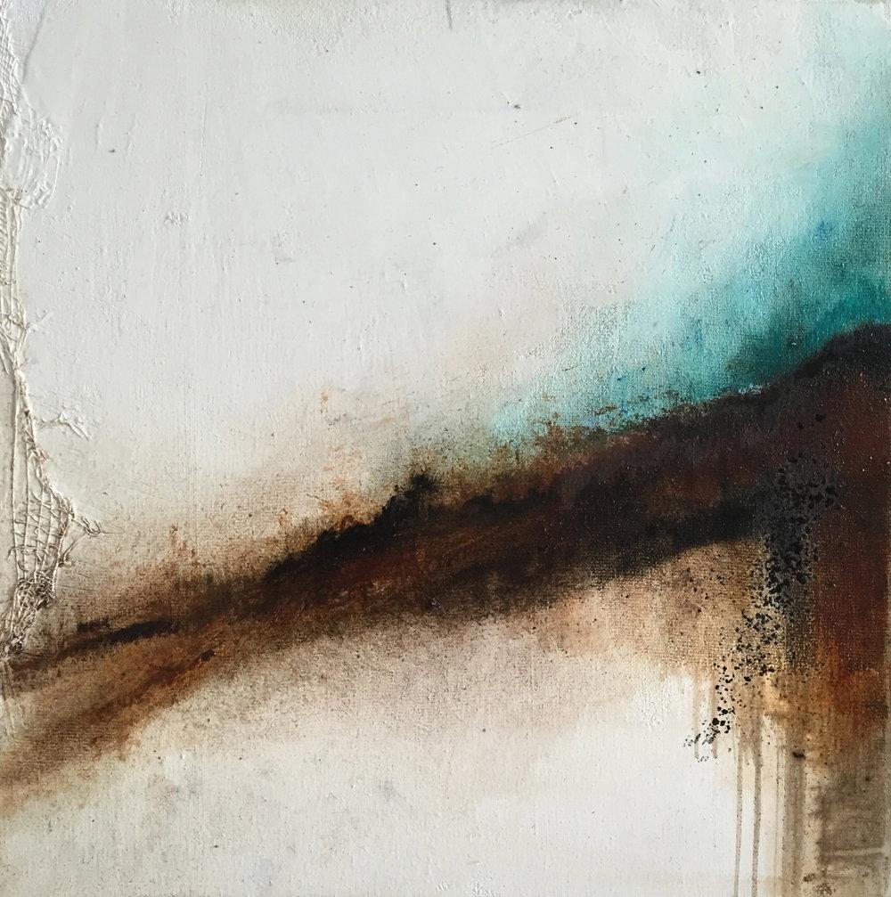 Huile sur toile, pigments -