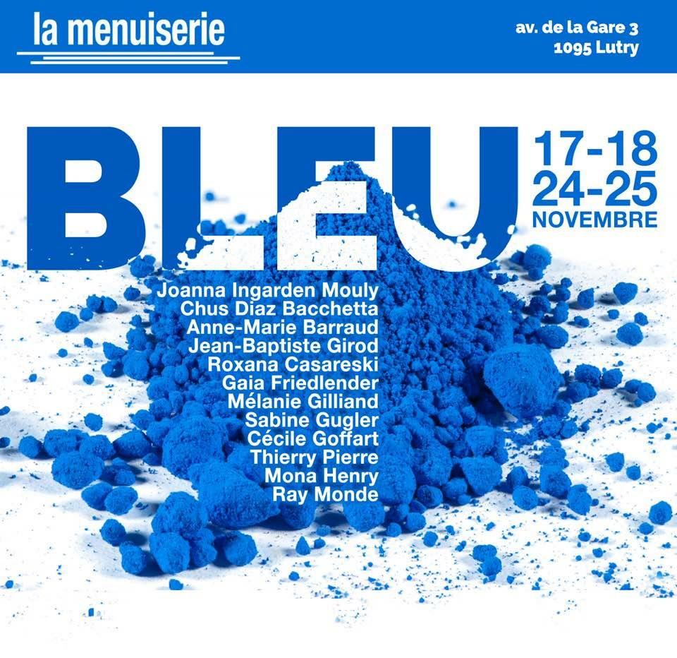 Exposition collective à la Menuiserie - Lutry - 17-18 et 24-25 novembre 2018