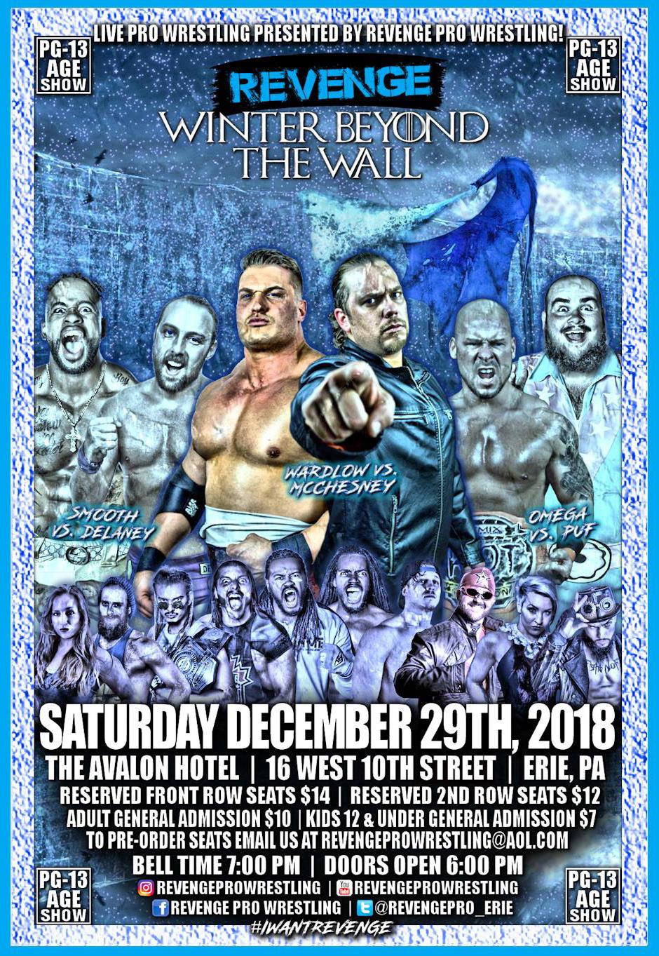 Revenge Pro - Winter Beyond the Wall (12.29.2018)